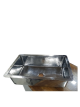 Hammered Design Stainless Steel Undermount Kitchen Sink - Single Bowl 304-Grade - Perfect For Home, Hotel, Farmhouse - Dim 33″ x 22.25″ x 9″